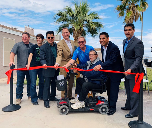 Chemehuevi Indian Reservation Ribbon-Cutting