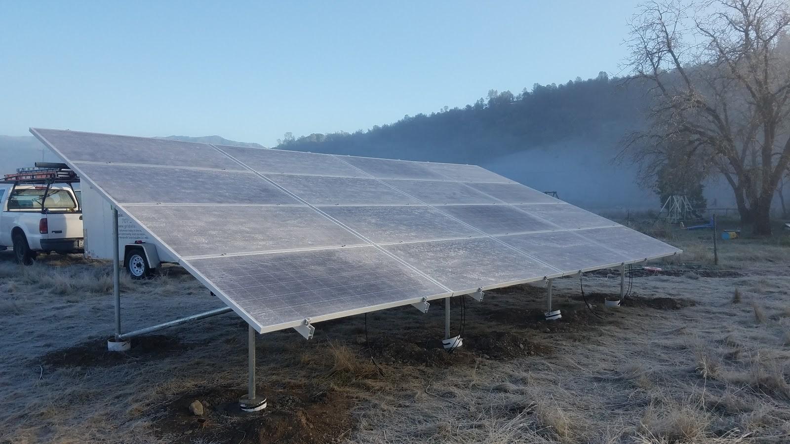 Solar Array in Covelo