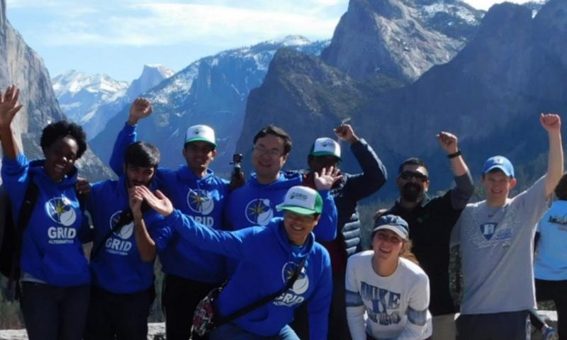 Duke University Students at Yosemite National Park