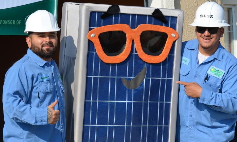 Raymond and Chris at Solarthon 2016