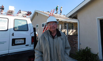 Home Owner Darrel Smith