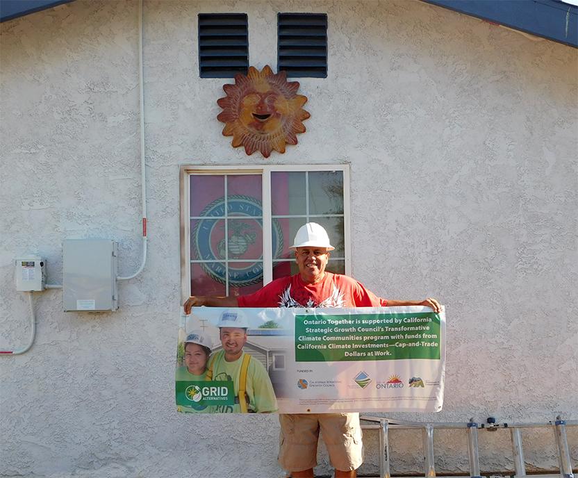 Homeowner David Correa