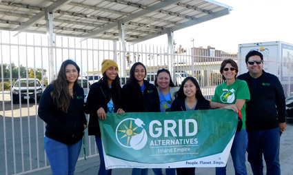 GRID IE Staff at Galilee Center in Mecca, California