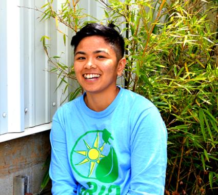 Javi, Bay Area SolarCorps Volunteerism & Development Fellow