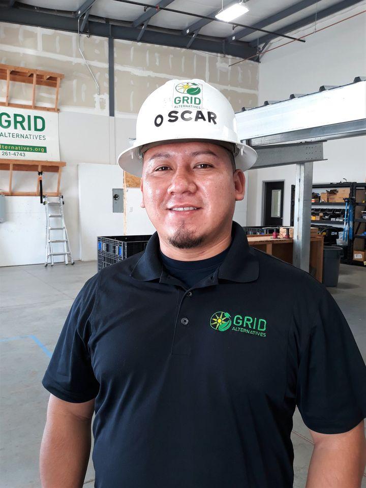 Oscar Mendez, Project Designer/Solar Installation Supervisor