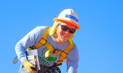 SolarCorps Construction Fellow Zachary Cain