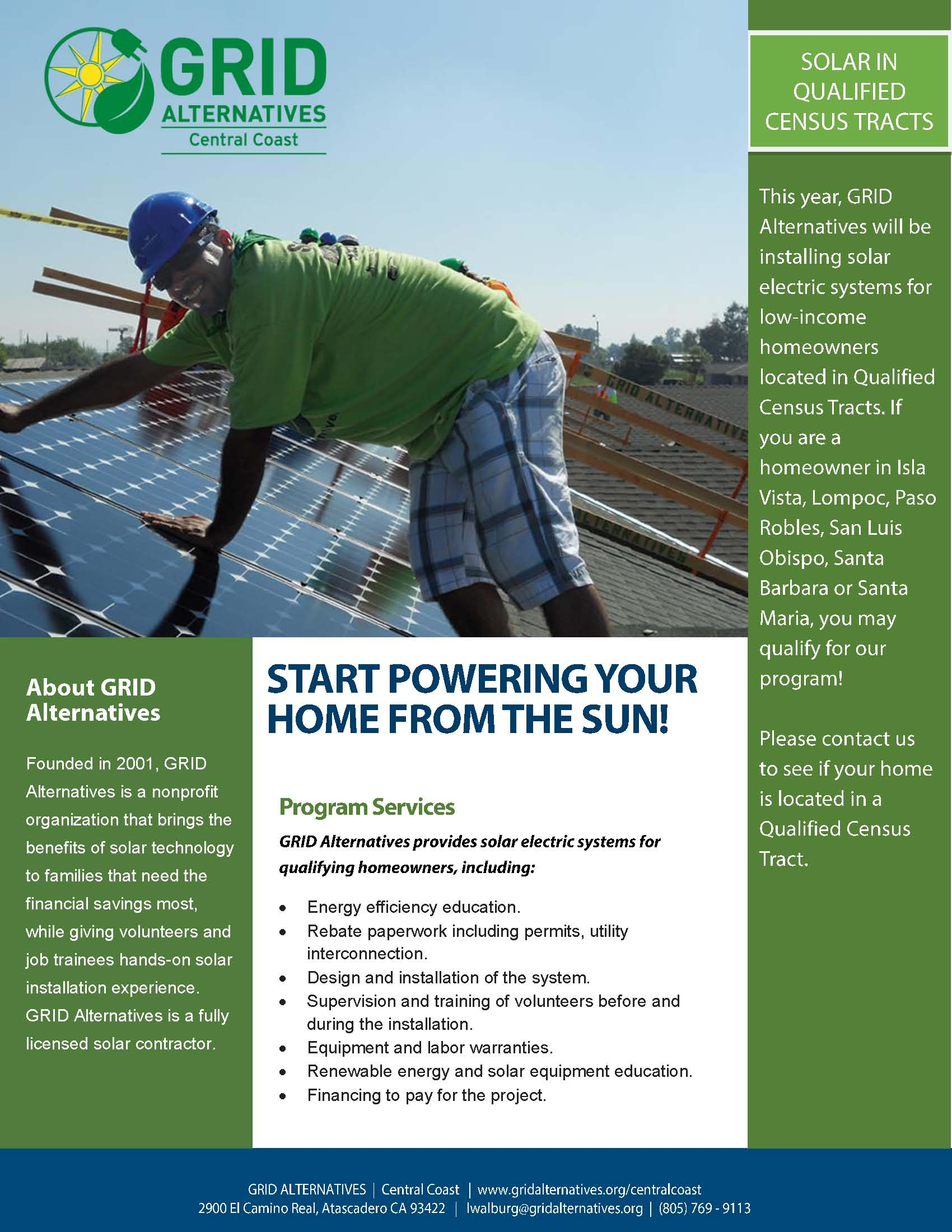Start Powering YOUR Home from the Sun!!