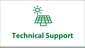 """Clickable box that says """"Technical Support"""""""