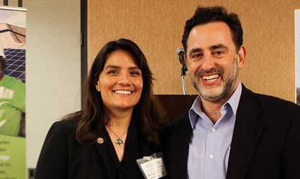 Commissioner Martha Guzman Aceves and Executive Director Michael Kadish attended the Los Angeles Energy & Equity Policy Series