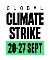 IMG: Global Climate Strike logo
