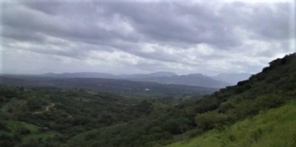 A mountainous landscape in Totumblita