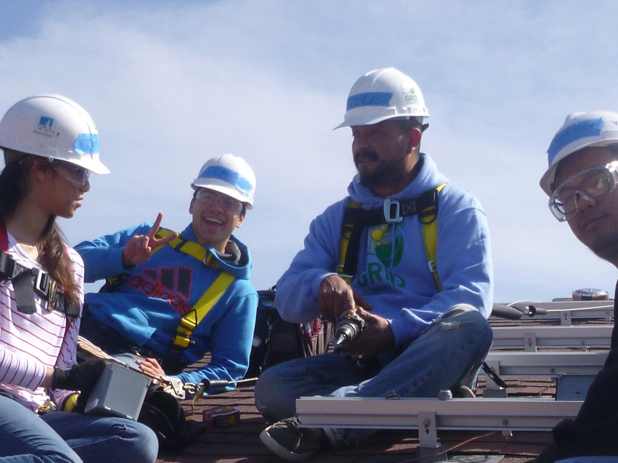 Pedro Hernandez, Solar Installation Supervisor